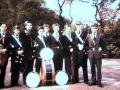 (404) 1961 - Band (5) Kelvingrove Park - Highland Shield
