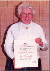 Mrs Elizabeth Kinnear