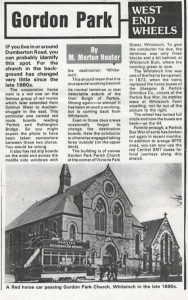 newspaper clipping added